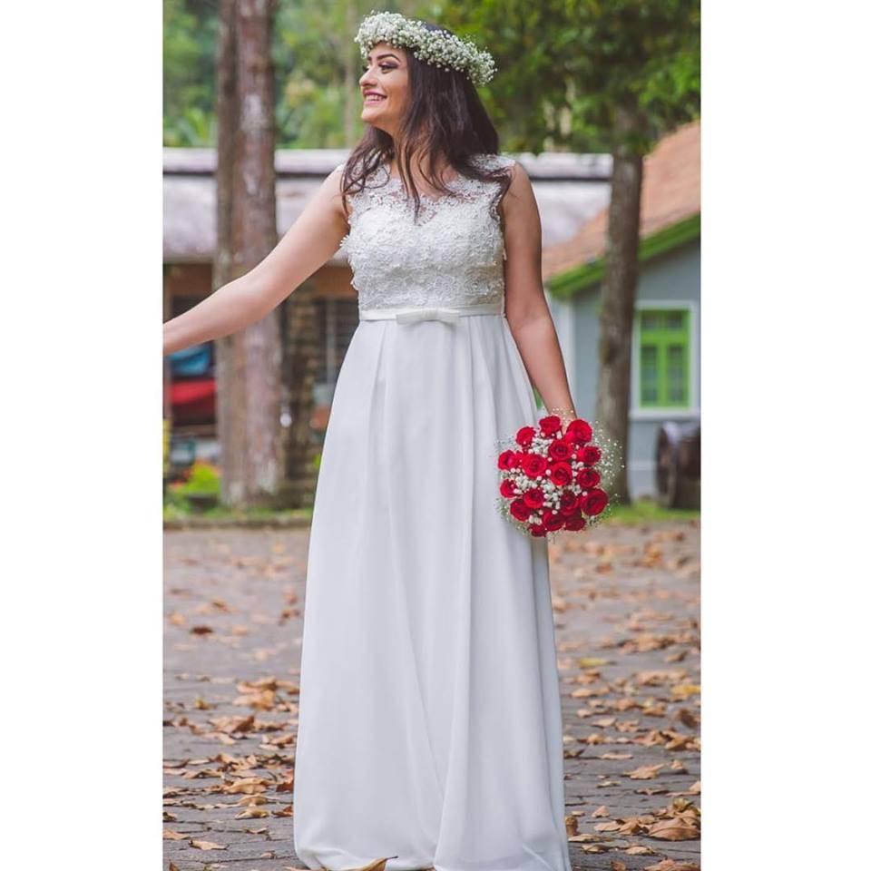 Locação de Vestidos Brancos Para Noivas